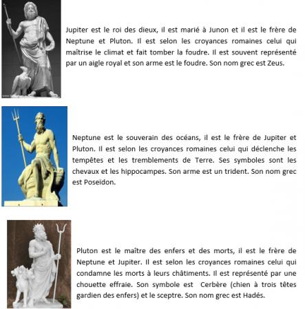 Top Les dieux romains, leurs symboles et leurs attributs - cordiaculturae YG45