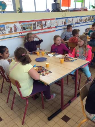Le petit d jeuner anglais ecolebeautor for Couvert de table en anglais