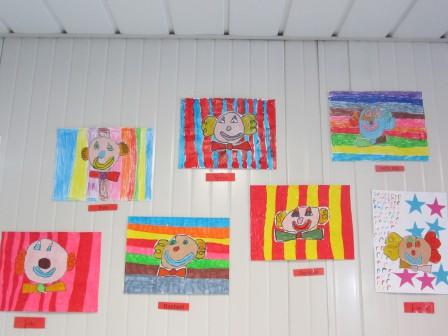 Arts Visuels Clown Cp Leptitrouy
