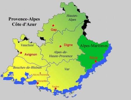 Les Regions Auvergne Rhone Alpes Et La Region Paca Mondrepuiscmblog