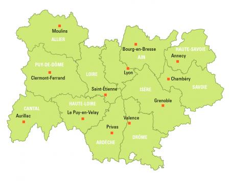 Carte France  Ef Bf Bd Remplir Villes R Ef Bf Bdgions Fleuves Et Montagnes