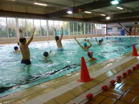 Dernière séance de natation - ULIS Collège de Marly - Ribécourt
